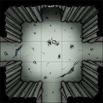 Cavern battlemap