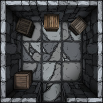 Dungeon battlemap