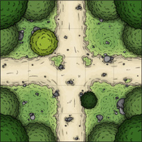 Forest battlemap