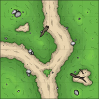 Wilderness terrain tiles